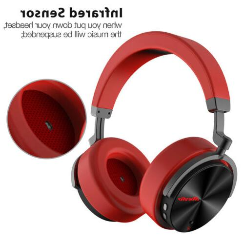 Bluedio T5S Headphones Headsets