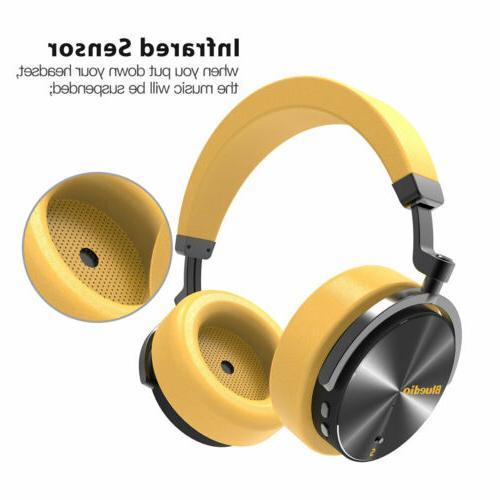 Bluedio T5S Headsets Mic