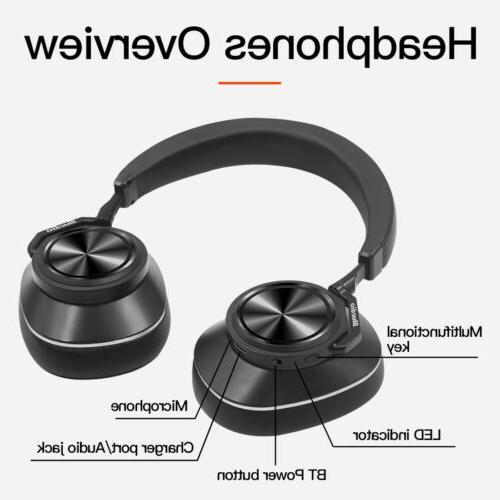 Bluedio T6C Bluetooth 5.0 Headphones Wireless Stereo PPS8 He