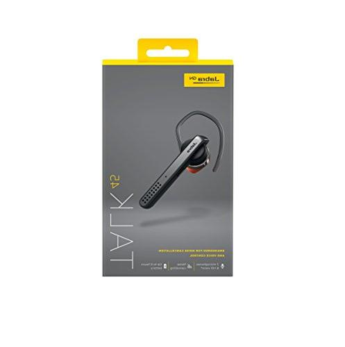 Jabra Talk 45 Headset for Definition Hands-Free Calls Dual Mic Noise Cancellation, Voice Activation and Streaming