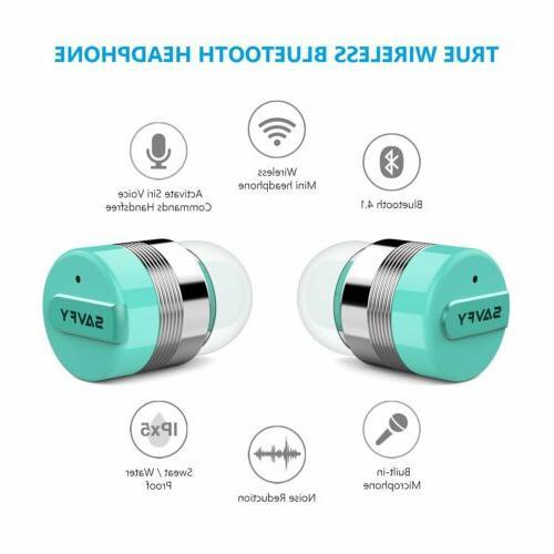 True Wireless Mini Earphones Stereo Earbuds