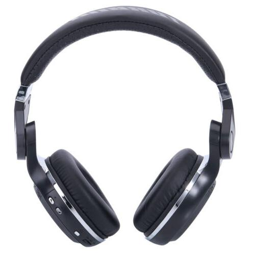 Bluedio Turbine T2 4.1 Wireless Headphones Mic Black