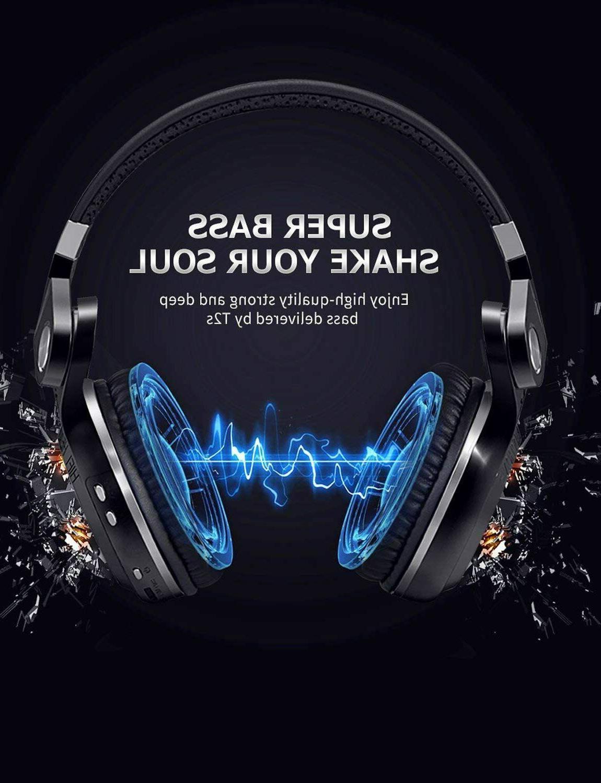 Bluedio T2s 4.1 Headphones Mic/Bass