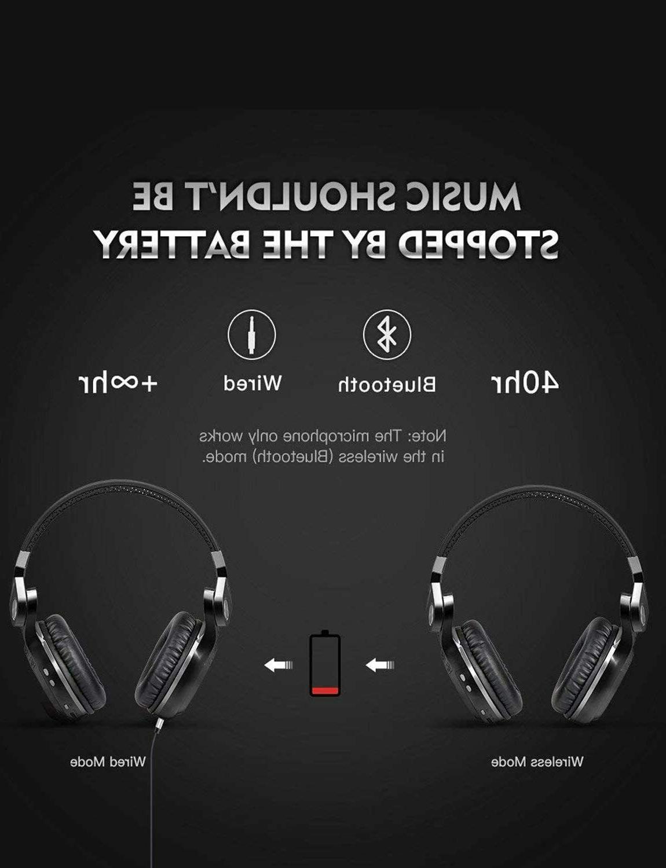 Bluedio Turbine 4.1 Stereo Headphones Mic/Bass