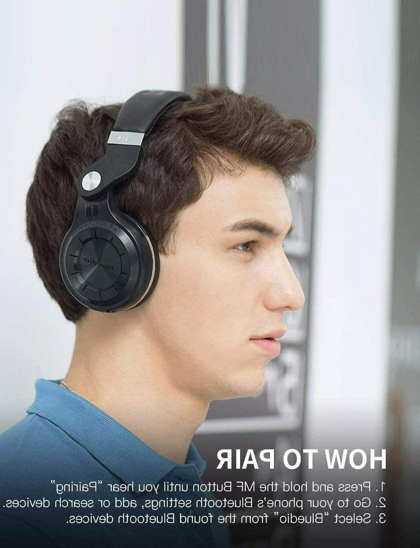 Bluedio Bluetooth 4.1 Headphones Mic/Bass