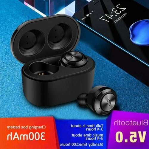 Bluetooth 5.0 Headphones Earbuds Wireless Headsets HIFI Soun