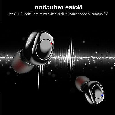 Waterproof Wireless Headsets Touch Earphones Earbuds