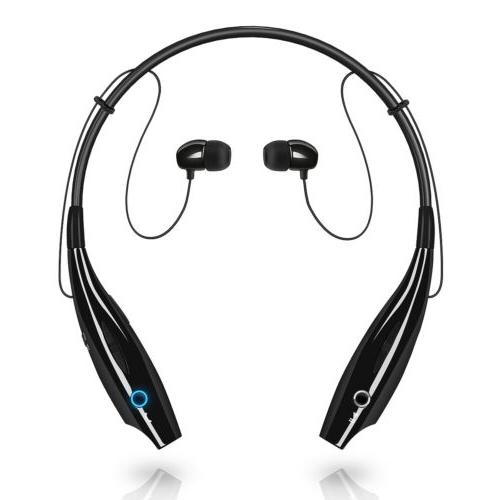 Universal Wireless Bluetooth Headset Headphones Stereo Neckb