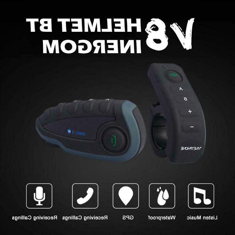 V8 Headset 5 Riders