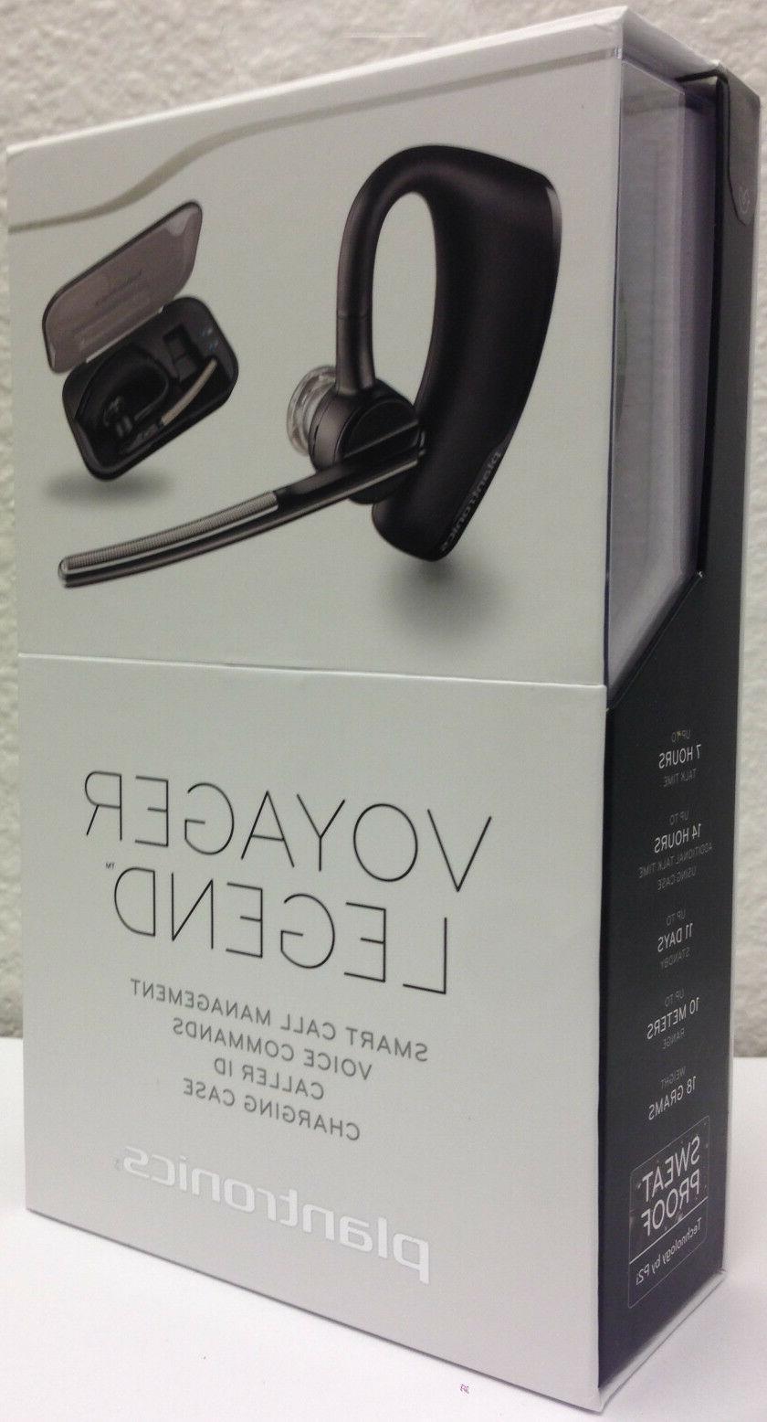 voyager legend bluetooth headset and charge case