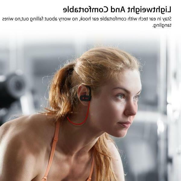 Waterproof Bluetooth Sports Wireless Headset NEW