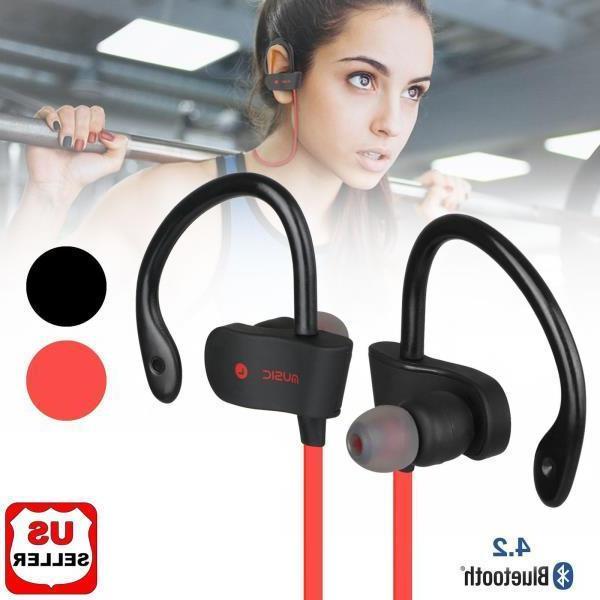 Waterproof Bluetooth Earbuds Wireless Headphones in Headset NEW