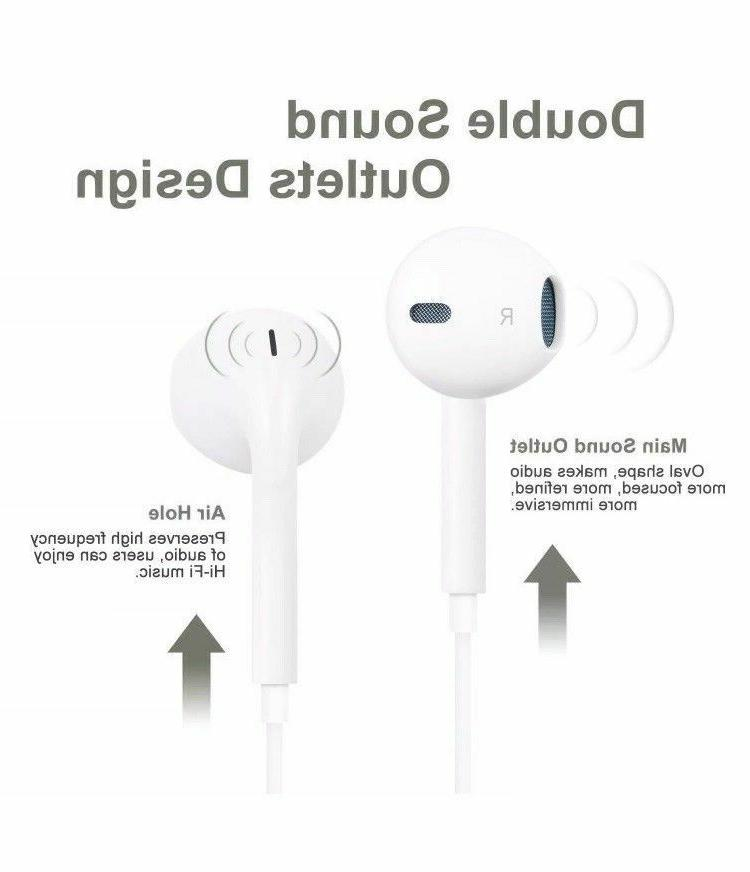 Wired Headsets In-ear iPhone X 7 8 plus