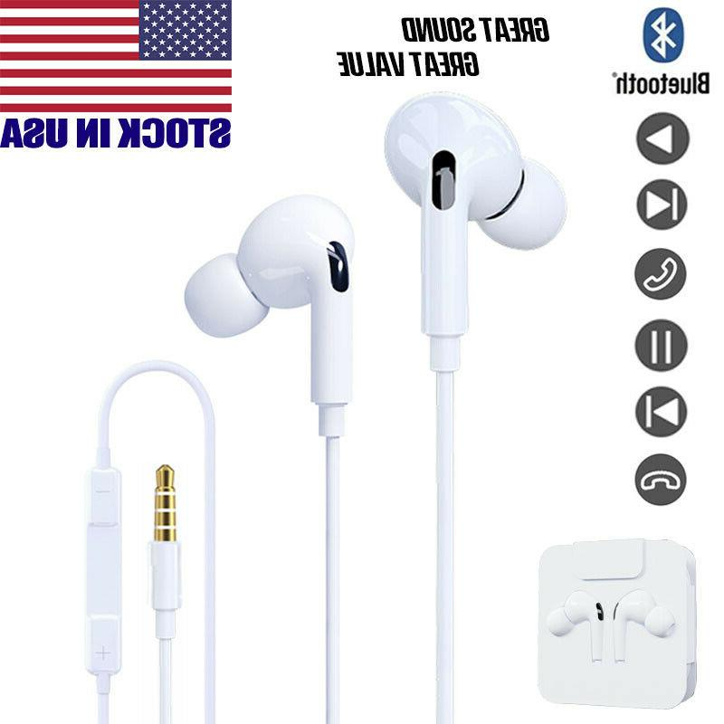 Wired Headphones iPhone 6 7 8 Plus XS XR 11 Gift