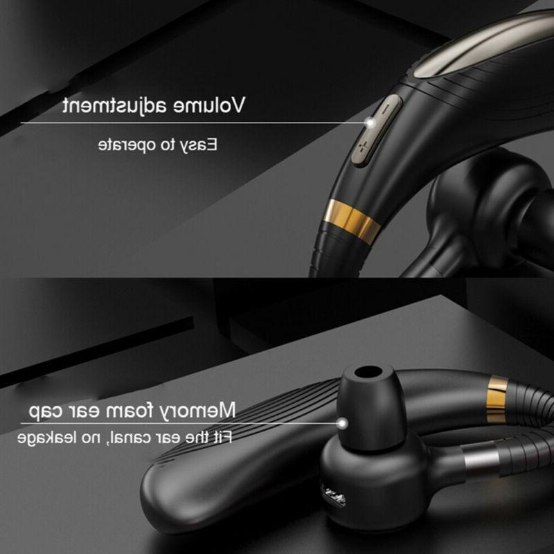 Wireless Bluetooth Driving Headset