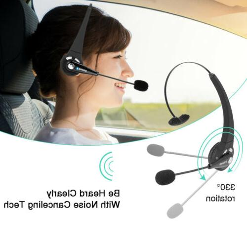 Wireless Headset Noise Cancelling Bluetooth