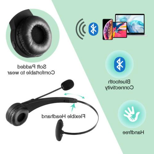 Wireless Headset Truck Noise Cancelling