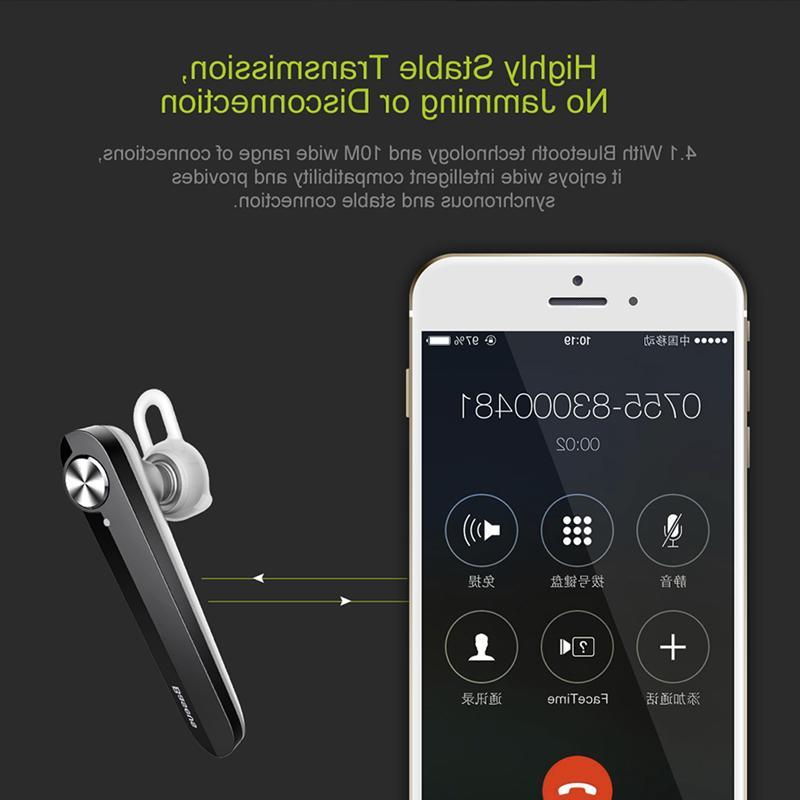 Baseus Wireless 4.1 Headset Stereo Headphones Earphone iPhone