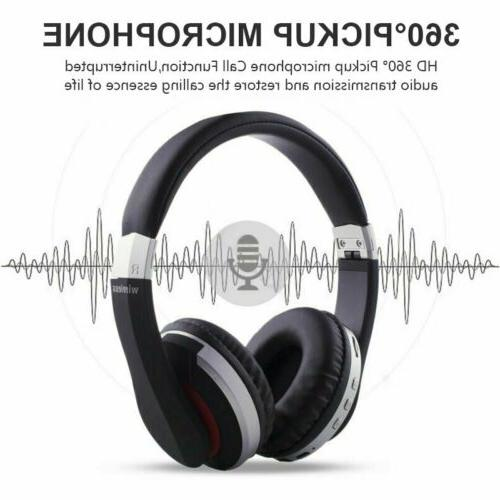 Foldable Headset Stereo Bass Earphones