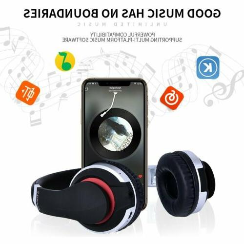 Wireless Bluetooth Foldable Headset Heavy Bass