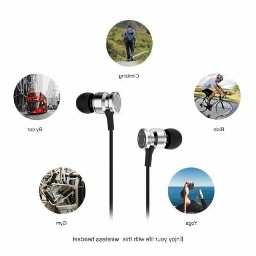 Wireless Sport Gym Earphones Headset MIC