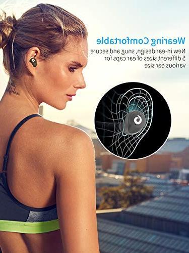 Bluetooth Earbuds Wireless Headphones Bluetooth Wireless IPX7 Waterproof Bluetooth Hi-Fi Sound Case