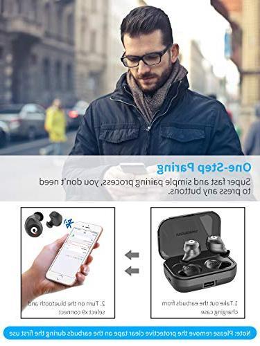 Bluetooth Wireless Bluetooth Wireless IPX7 Waterproof 72H Playtime Bluetooth 5.0 Stereo Sound with 2200mAH