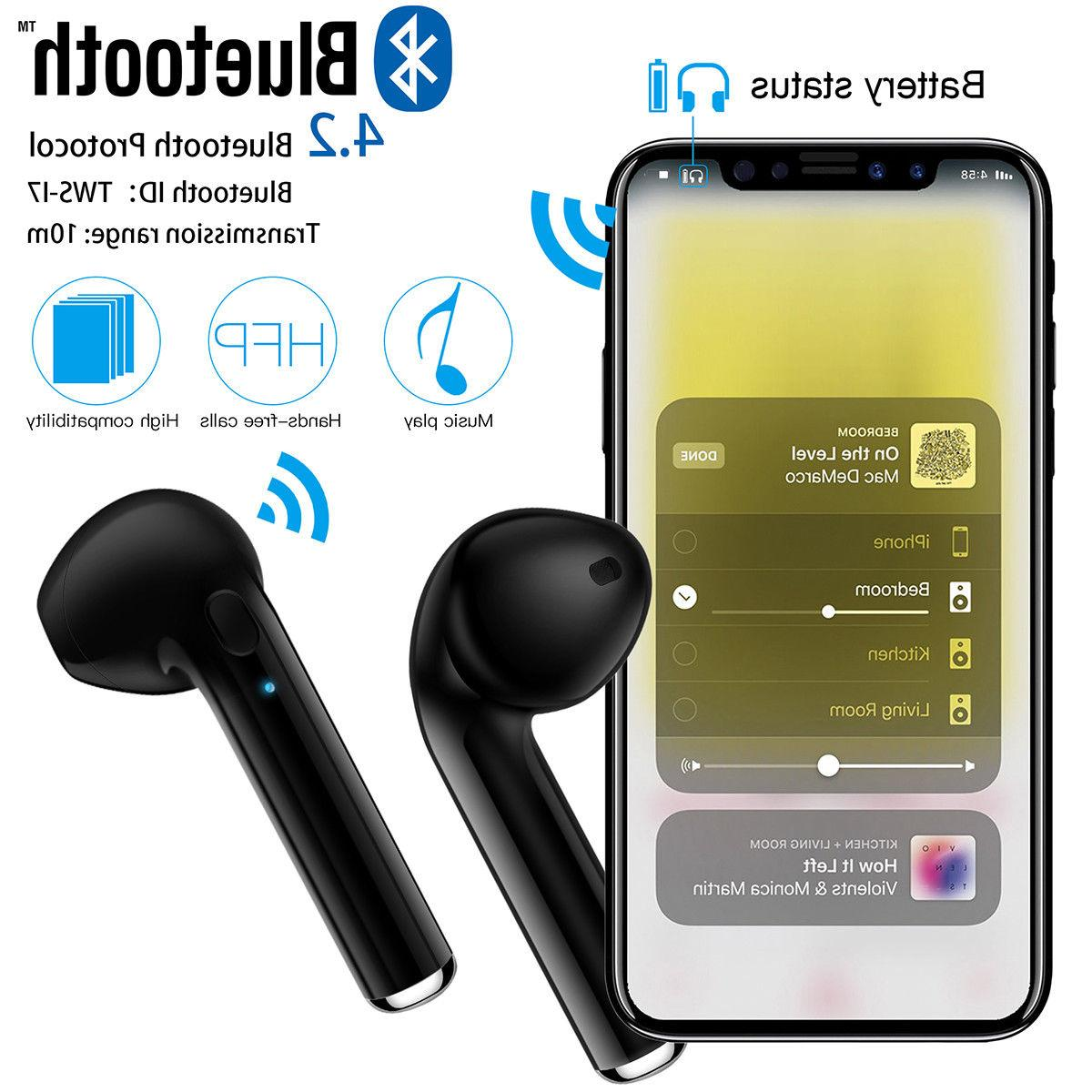 Dual Wireless Earbuds Universal Phone Models