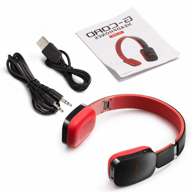 Wireless Bluetooth Headphones Foldable Stereo Earphones Headset