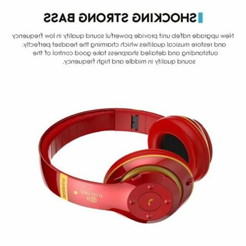 Wireless Bluetooth Headphones Stereo Earphones Headset