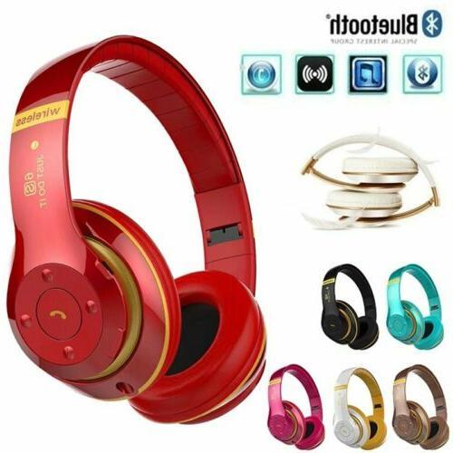 Wireless Bluetooth Stereo Headset Mic