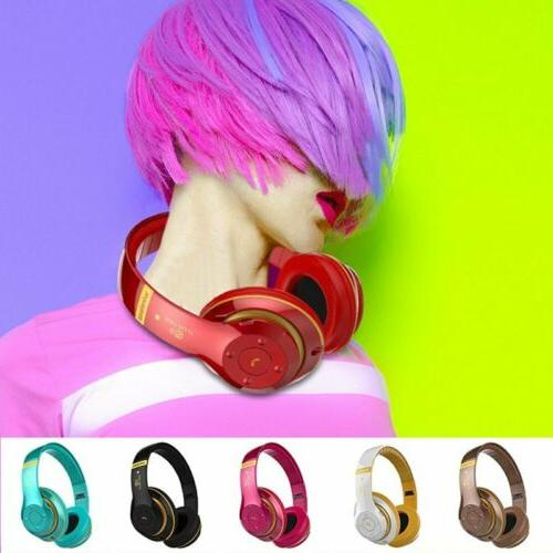 Wireless Bluetooth Stereo Earphones Super Headset Mic