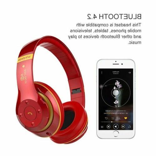Wireless Bluetooth Foldable Headset