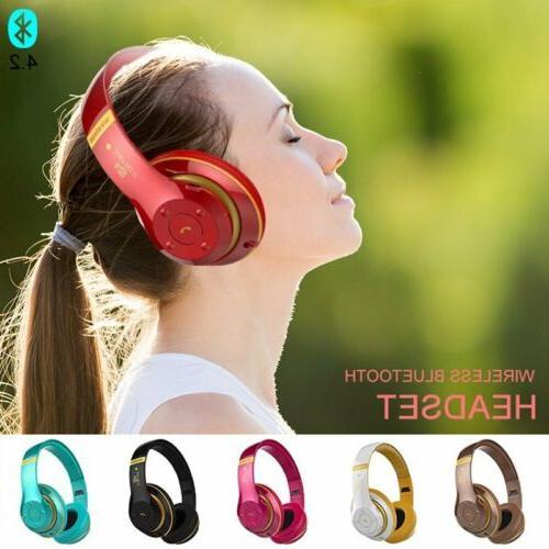 Wireless Bluetooth Headphones Stereo Super