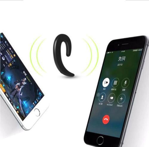 Earbud Headset Mic bone conduction