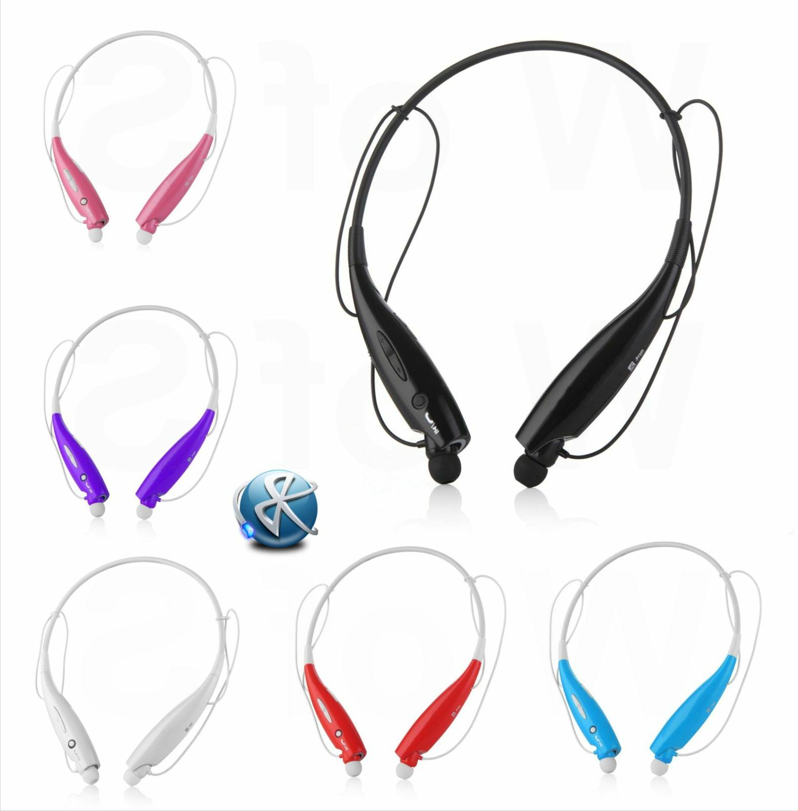 wireless bluetooth headset stereo headphone earphone sport