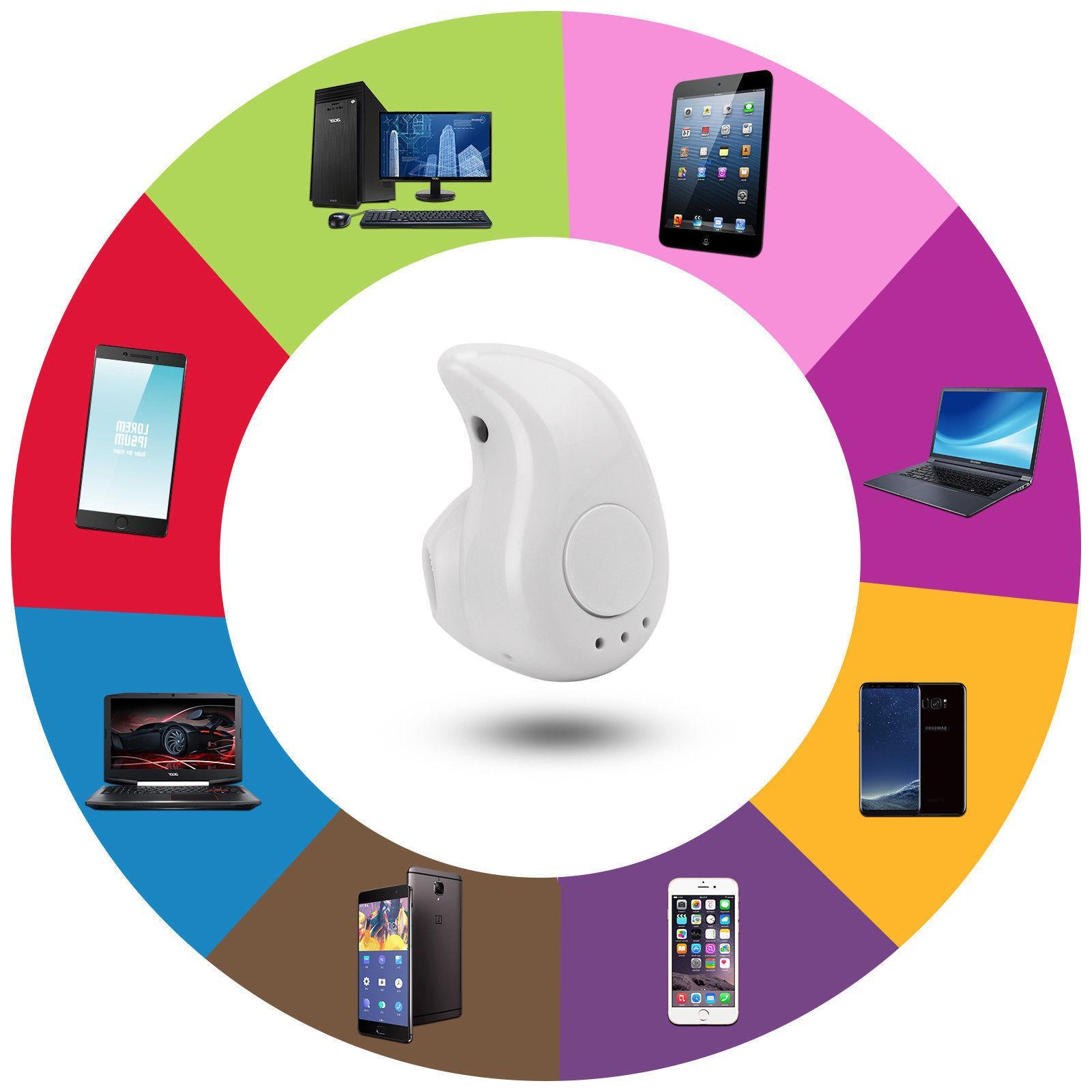 Wireless Headset Stereo Headphone Sport Handfree Universal