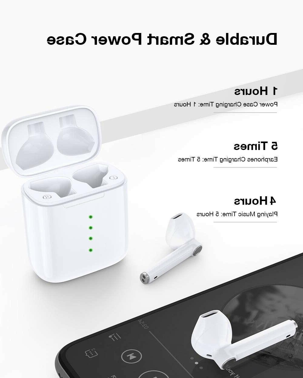 Wireless Bluetooth Earbuds Compatible AirPods