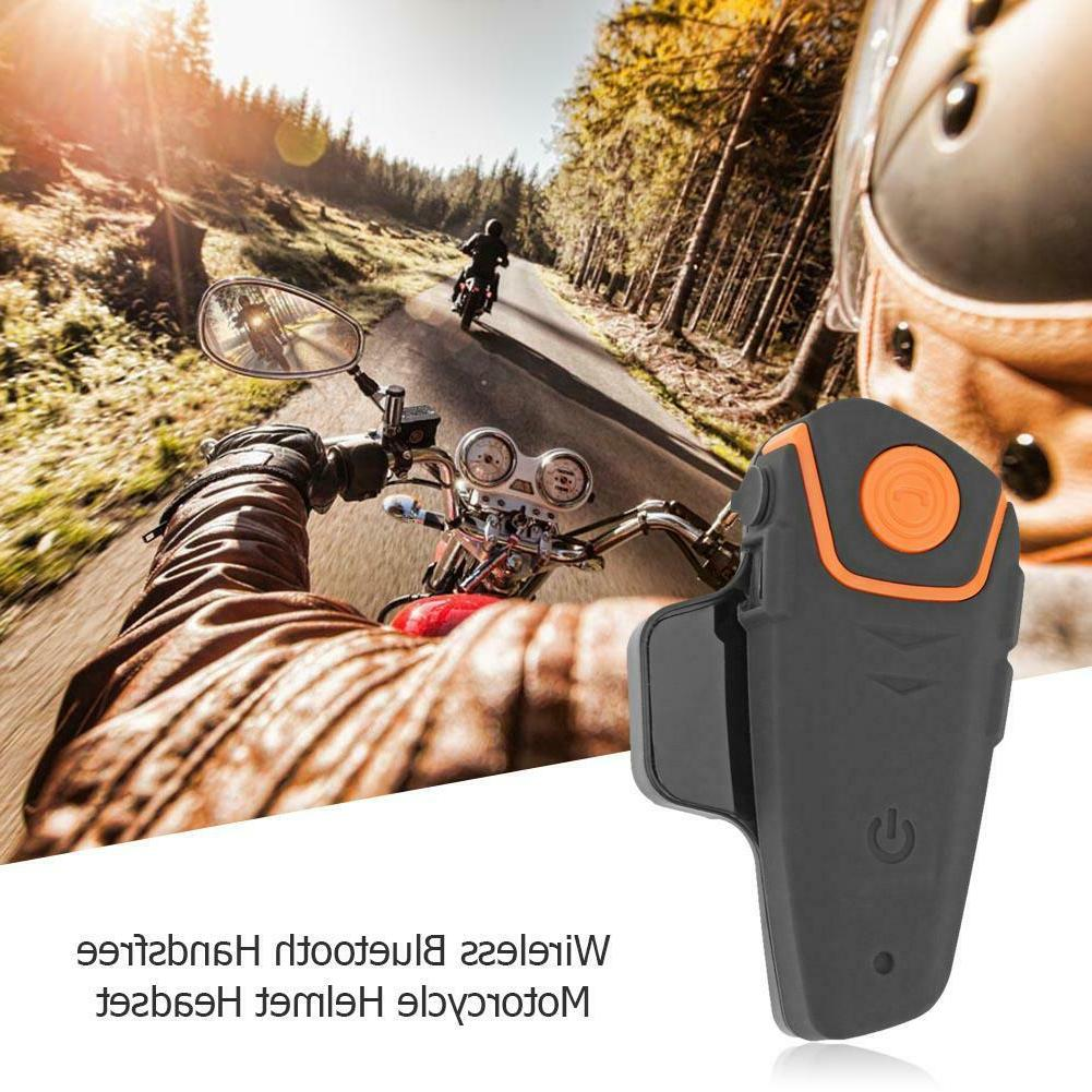 Wireless Bluetooth Motorcycle Non-Intercom Motorbike Interphone Headsets
