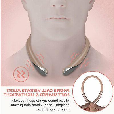Wireless Bluetooth Neckband Mic Stereo Headphone Earphone Earbud
