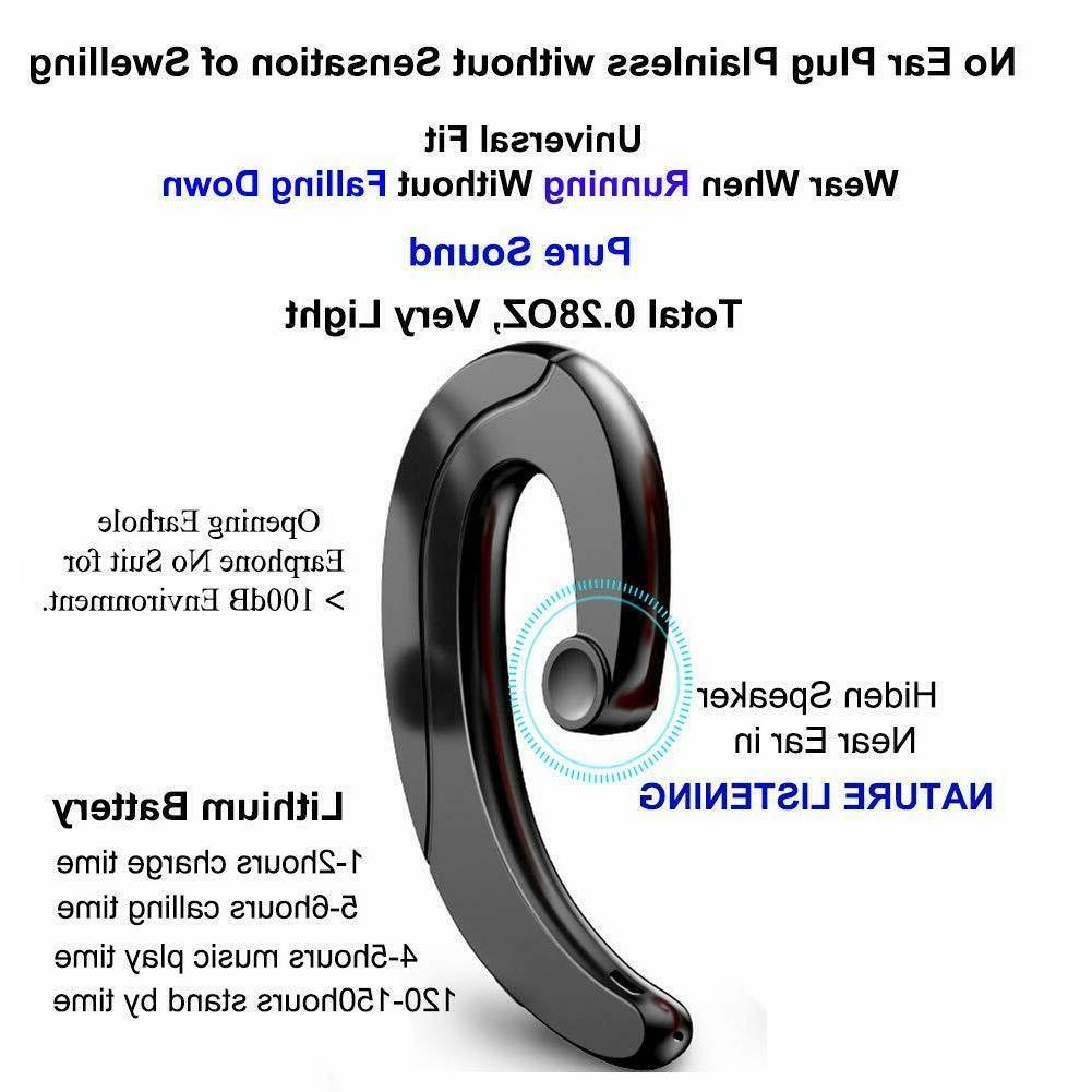 Wireless Earbud Driving Mic bone
