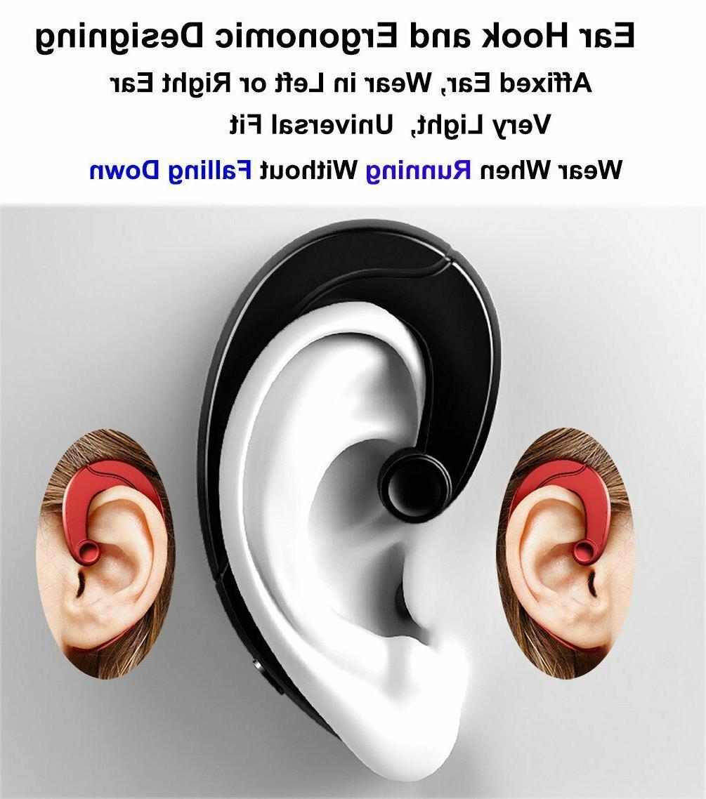 Wireless Earbud Headset Mic bone