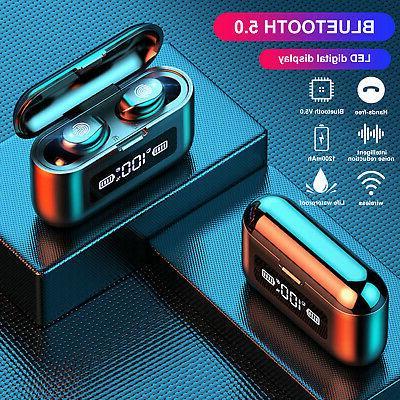 wireless earbuds bluetooth 5 0 earphones headphones