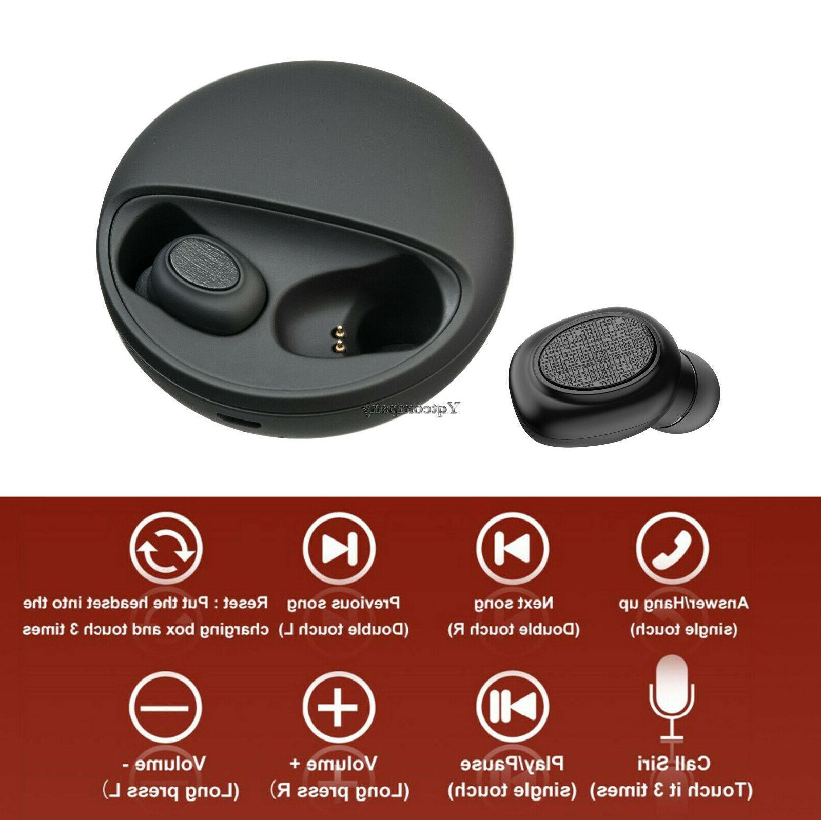 Wireless Bluetooth Ear Earphone Handfree USA