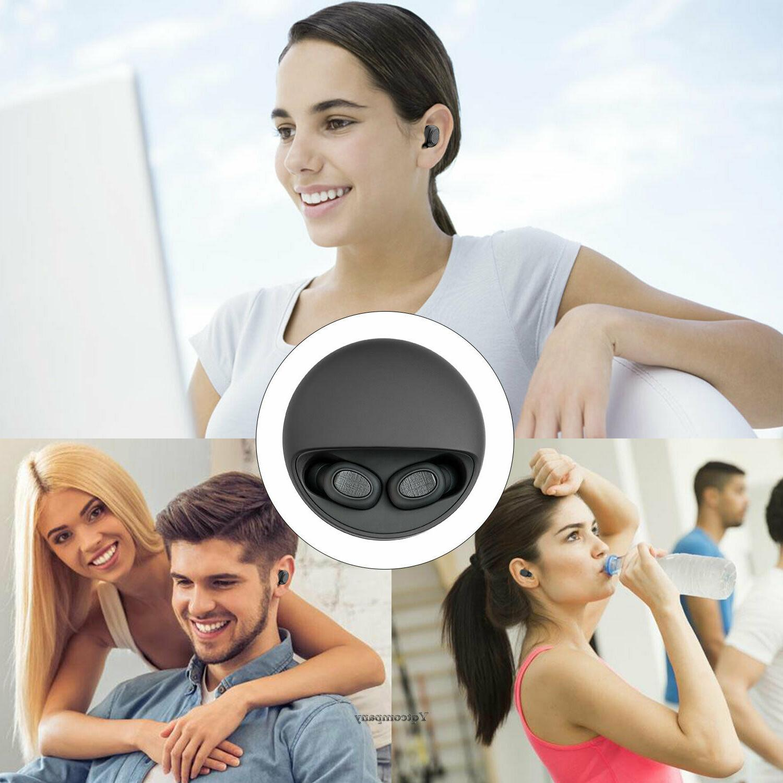 Wireless Bluetooth Ear Headset Stereo Headphone Earphone Handfree USA