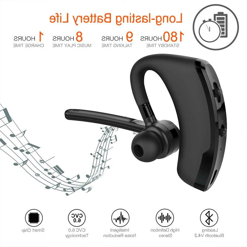 Wireless <font><b>Bluetooth</b></font> <font><b>Headset</b></font> <font><b>Bluetooth</b></font> Earphone Handsfree for Business Headphones for iPhone Huawei