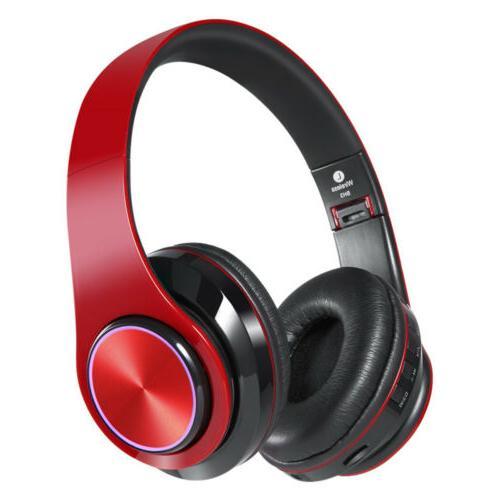 Wireless Headphones Bluetooth Foldable Stereo Headsets