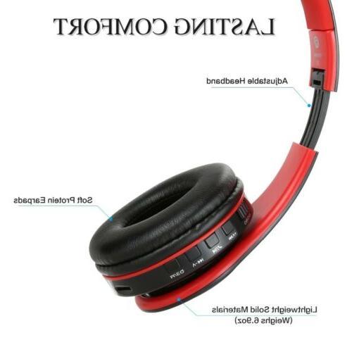 Wireless Headphones Super Bluetooth Stereo Earphones Headsets Mic