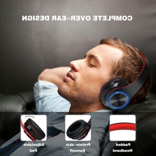 Wireless Bluetooth Foldable Headsets Mic