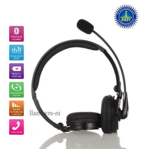 wireless headset bluetooth headphone headsets noise cancelli